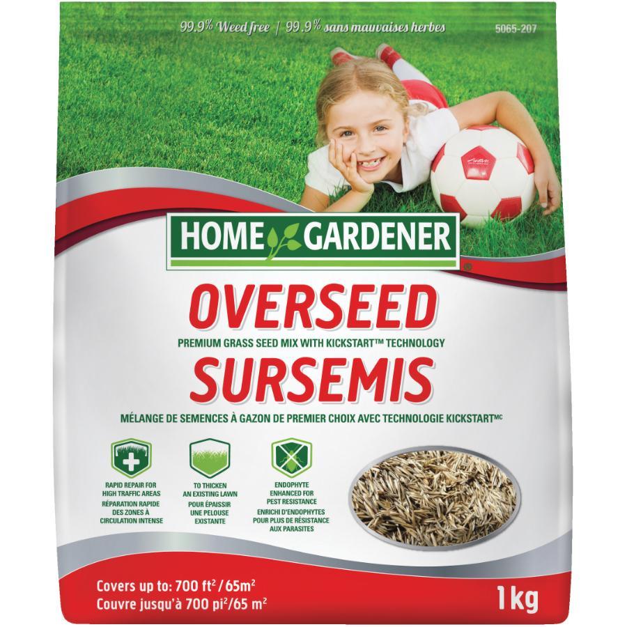 Home Gardener 1kg Overseeding Grass Seed