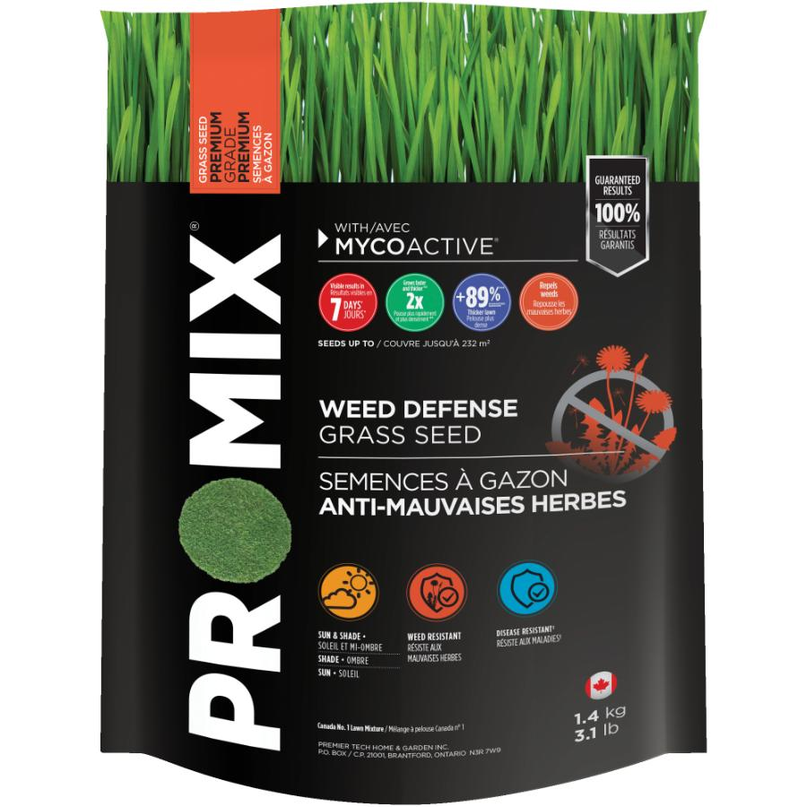 Pro-mix 1.4kg Weed Defense Grass Seed