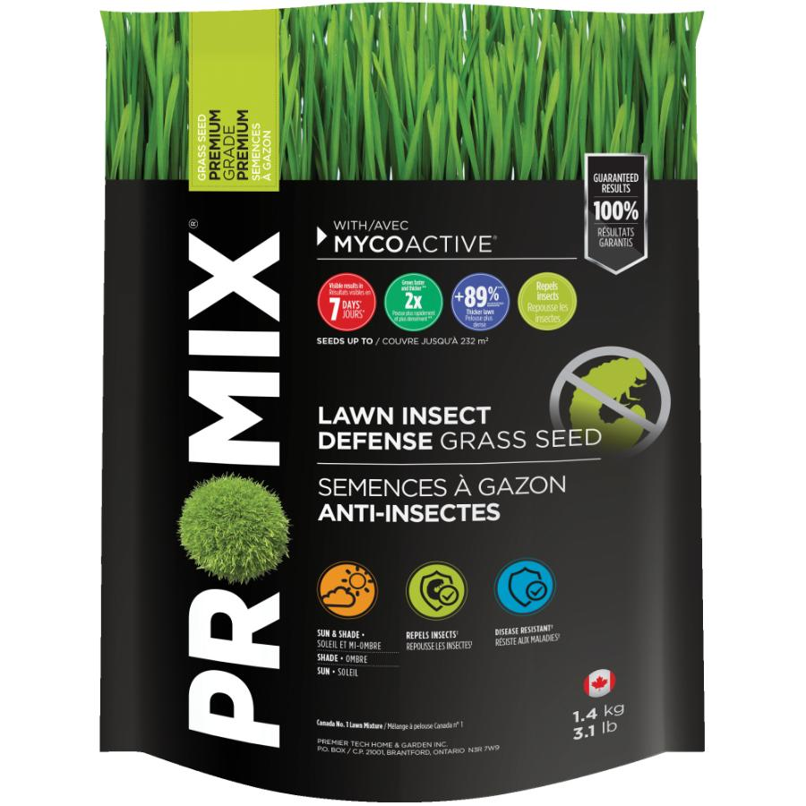 Pro-mix 1.4kg Insect Defense Grass Seed