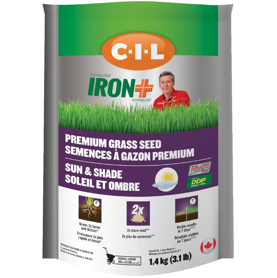 C-i-l 1.4kg Iron Plus Premium Grass Seed