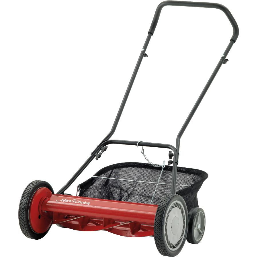 """Mark's Choice 20"""" Reel Mower, with Grass Catcher"""