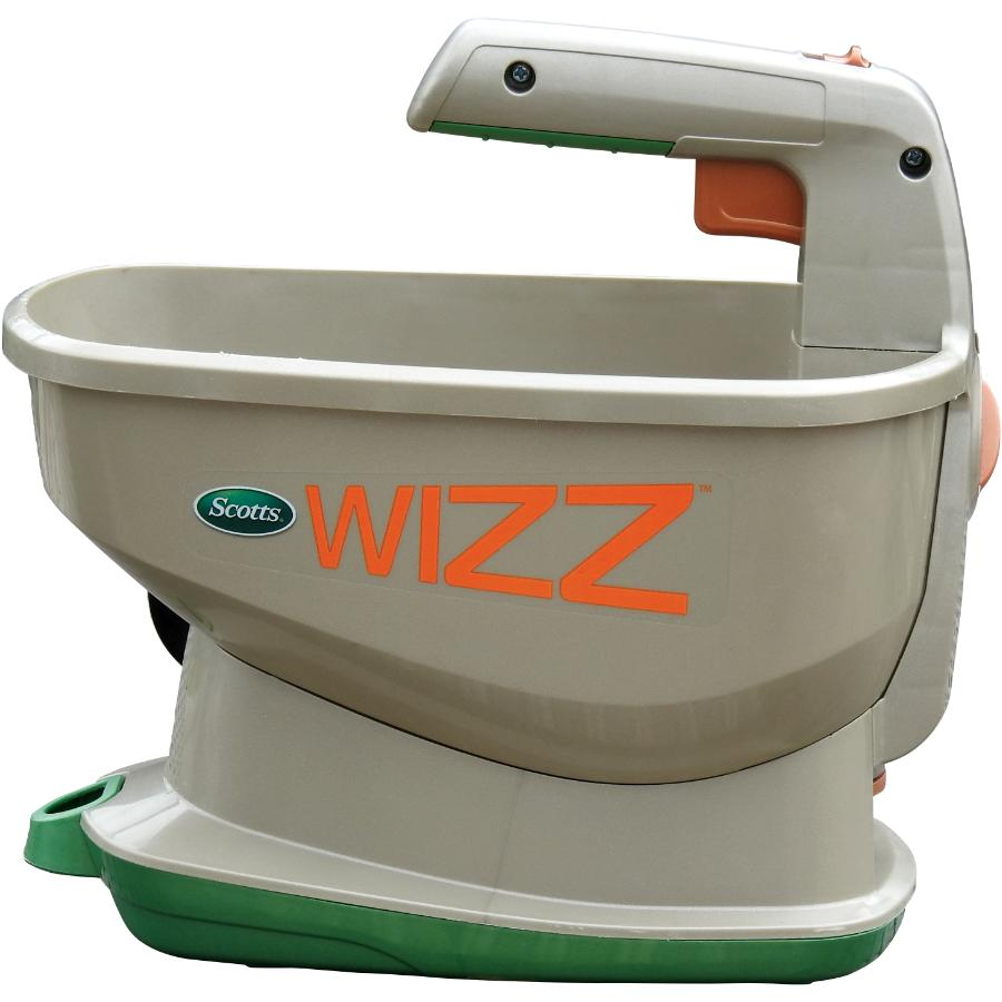 Scotts Wizz Battery Powered Fertilizer, Seed, and Ice Spreader