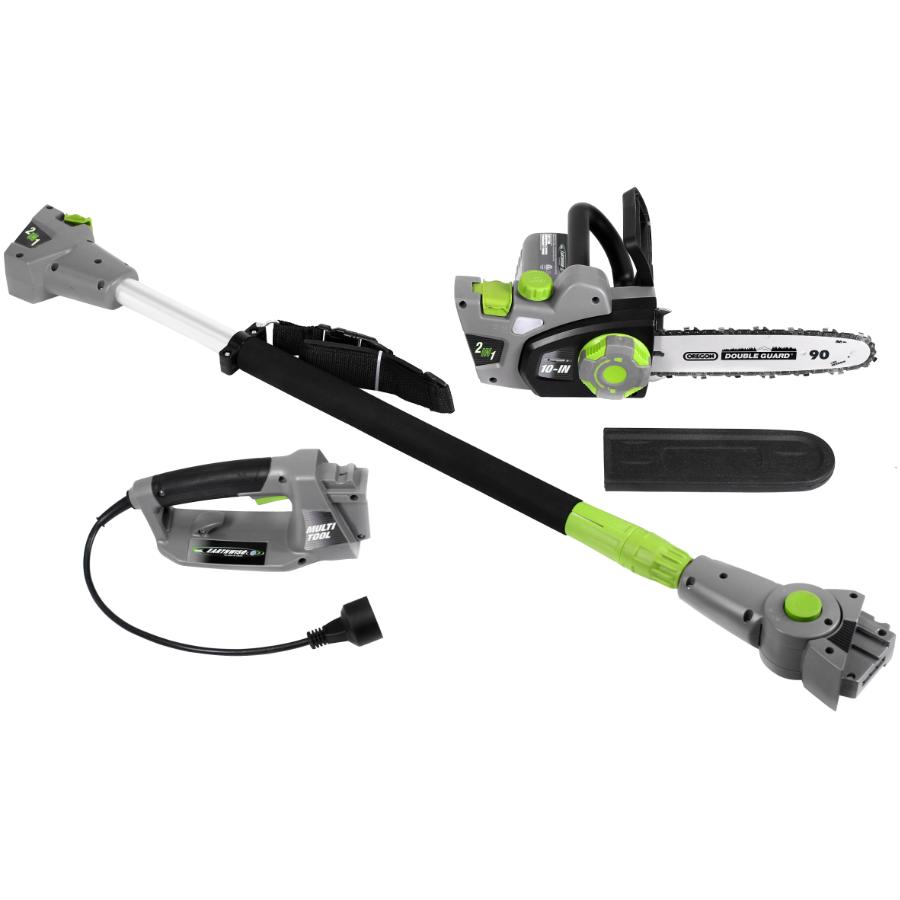 """Earthwise 2-in-1 10"""" Convertible Pole Chain Saw"""