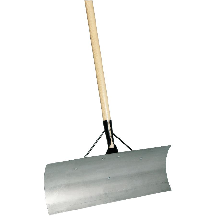 """Snow Mover 24"""" Stainless Steel D-Handle All-Purpose Scraper"""