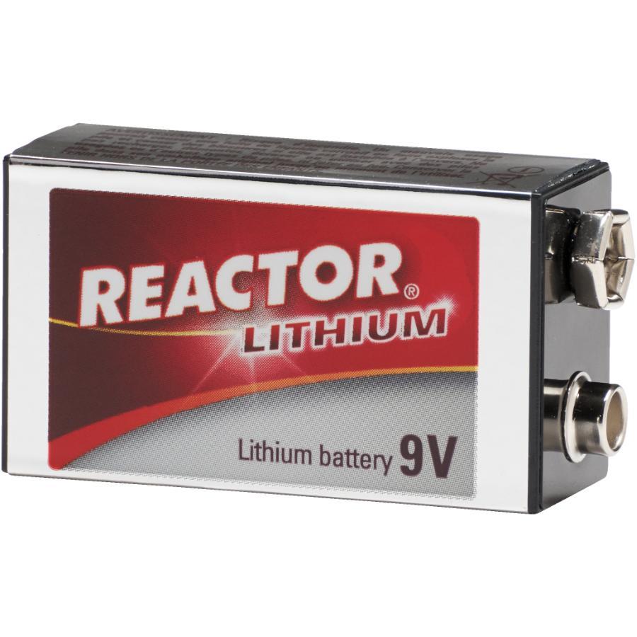 Reactor 10 Year 9 Volt Lithium Battery