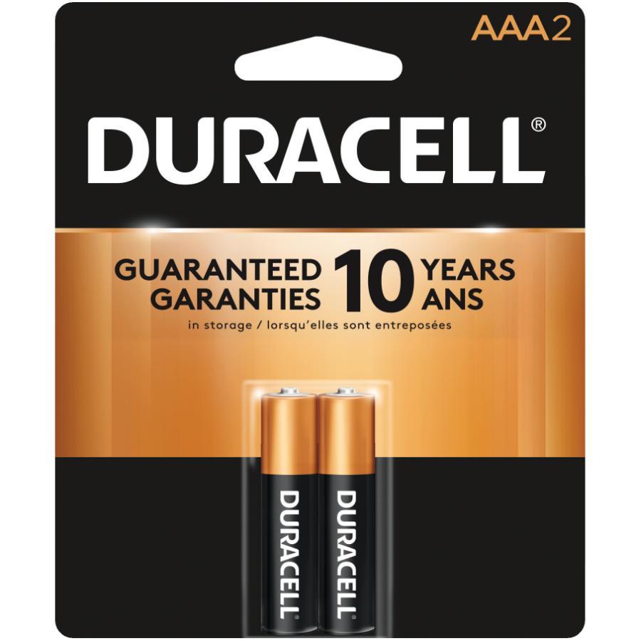 Duracell 2 Pack Alkaline AAA Batteries