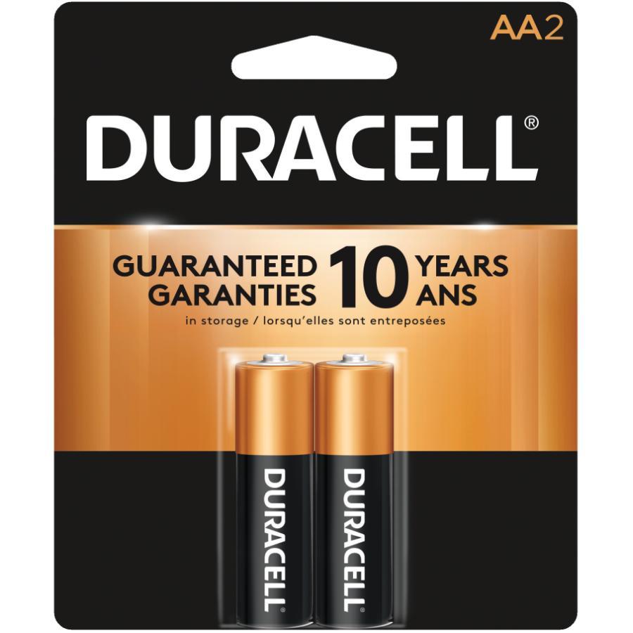 Duracell 2 Pack Alkaline AA Batteries