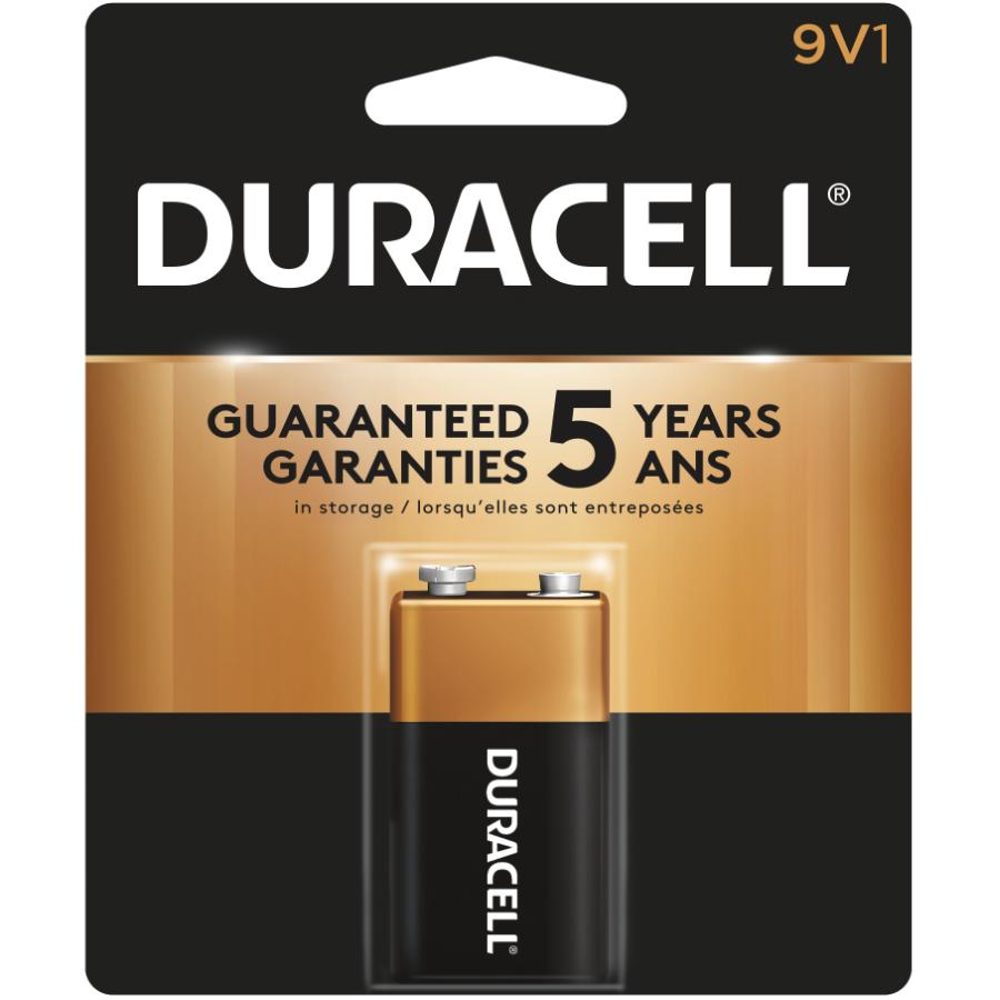 Duracell 9 Volt Alkaline Battery