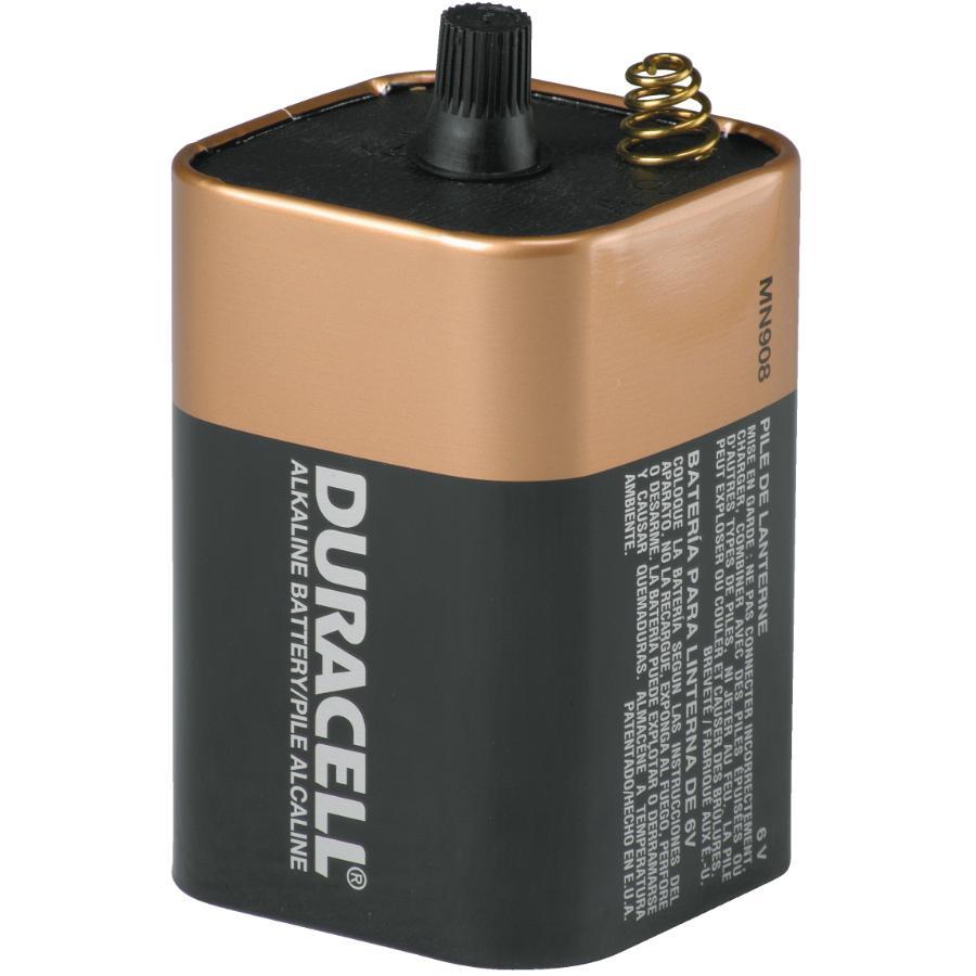 Duracell 6 Volt Spring Top Alkaline Lantern Battery
