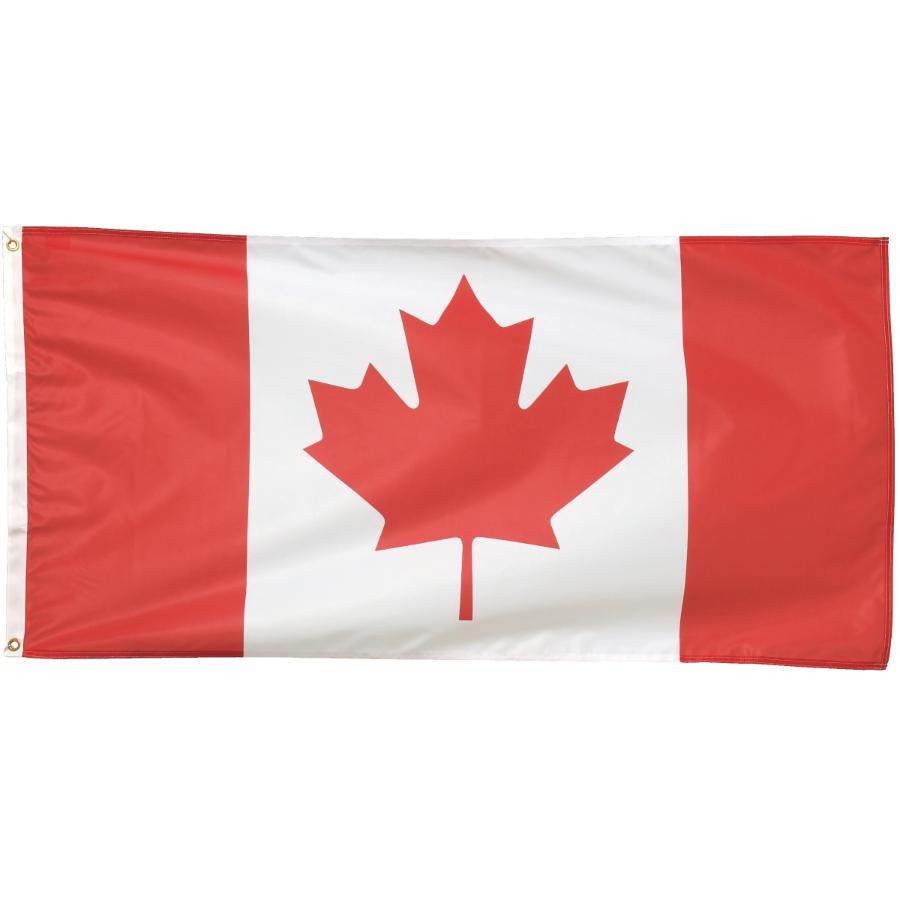"Flags Unlimited 27"" x 54"" Duraknit Canada Flag"