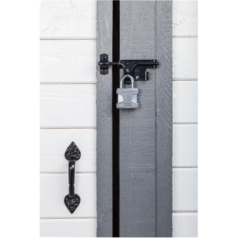 "Weiser Lock 2"" Smartkey Heavy Duty Padlock, with 1-1/8"" Shackle"