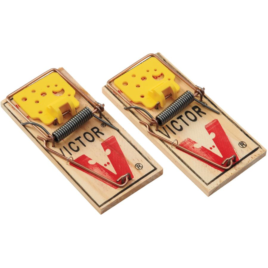 Victor 2 Pack Easy Set Mouse Traps