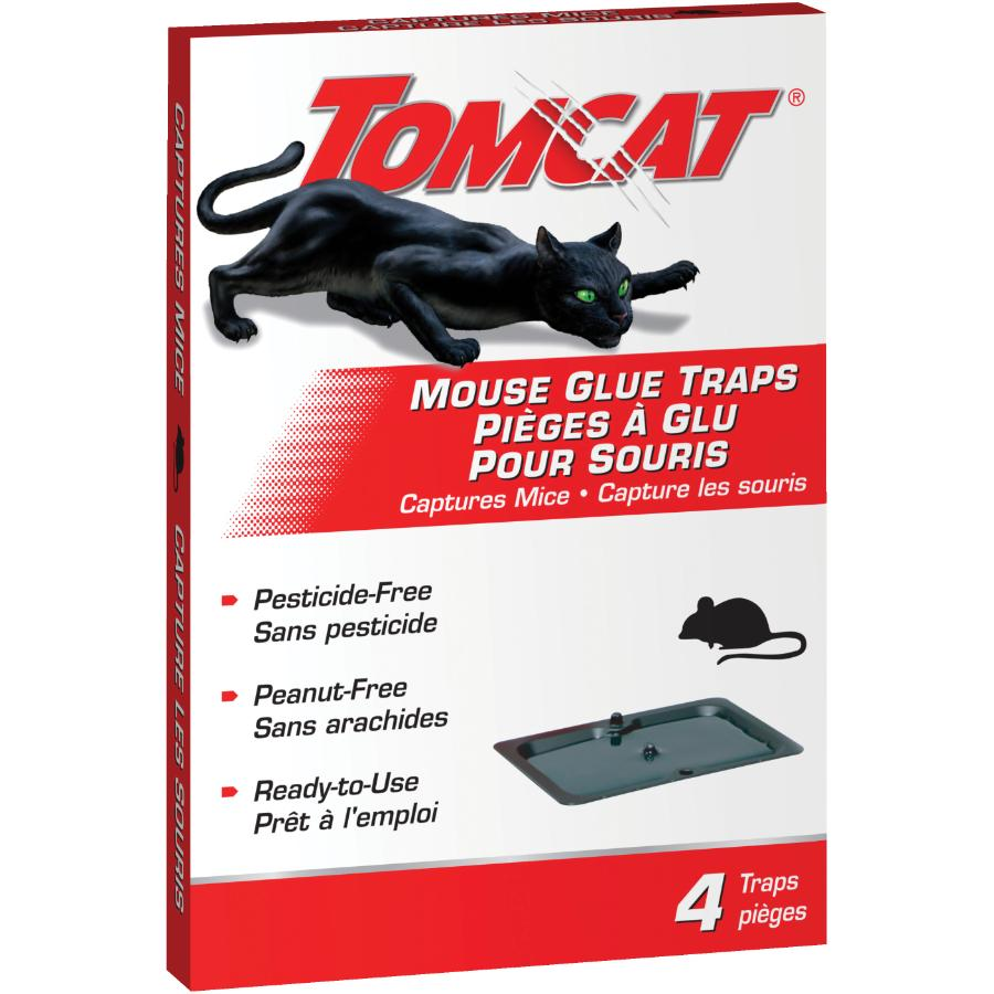 Tomcat 4 Pack Mouse Glue Traps