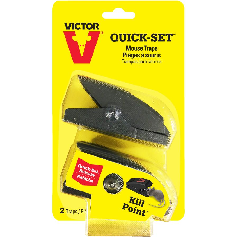 Victor 2 Pack Quick Set Mouse Traps