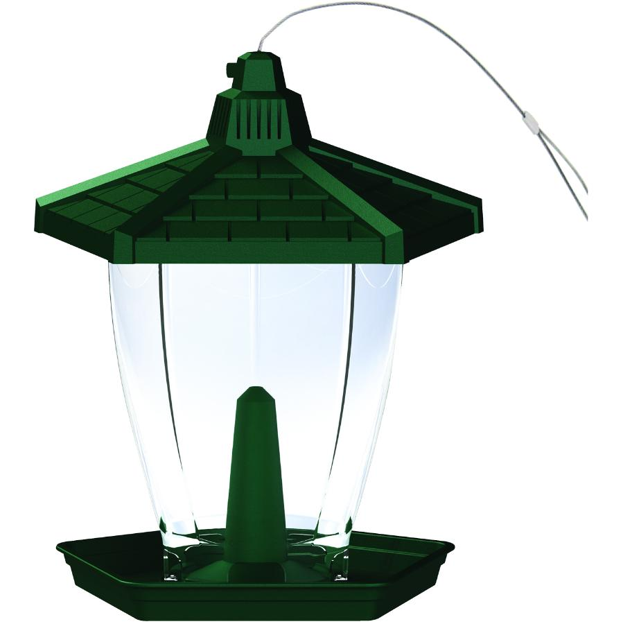 PERKY PET 1.25lb Capacity Small Gazebo Bird Feeder