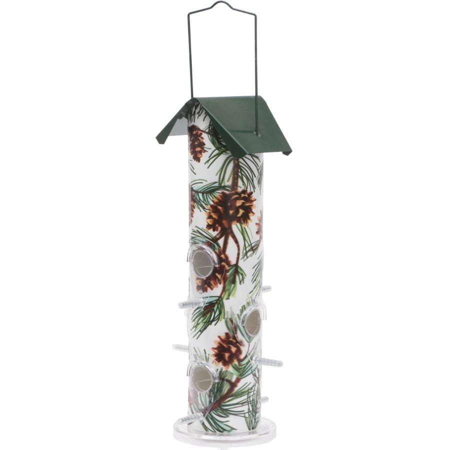 Perky Pet 1lb Capacity Pine Cone Metal Tube Bird Feeder