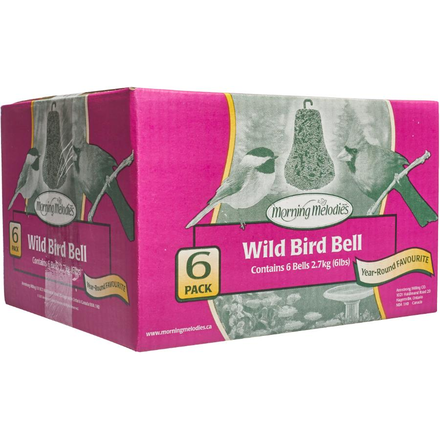 Morning Melodies 6 Pack Mixed Bird Food Bells