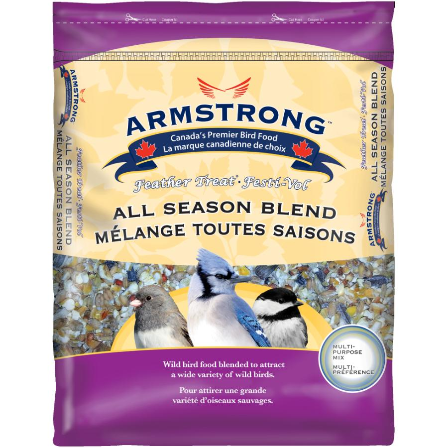 ARMSTRONG 15kg Feather Treat All Season Blend Bird Seed