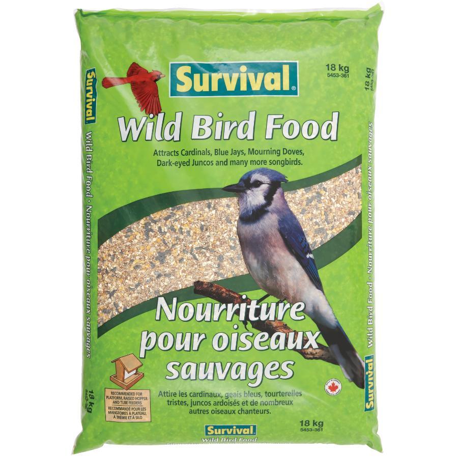 Survival 18kg Mixed Wild Bird Seed
