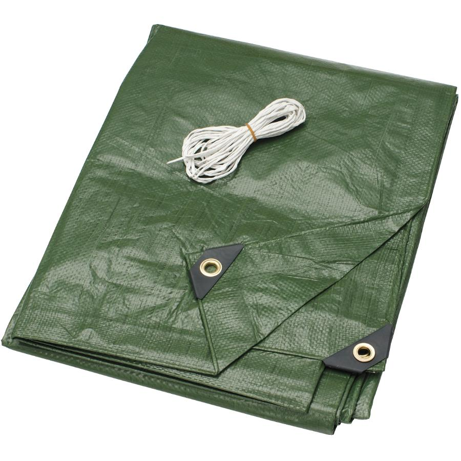 Country Hardware 10' x 12' Olive Green Poly Tarpaulin