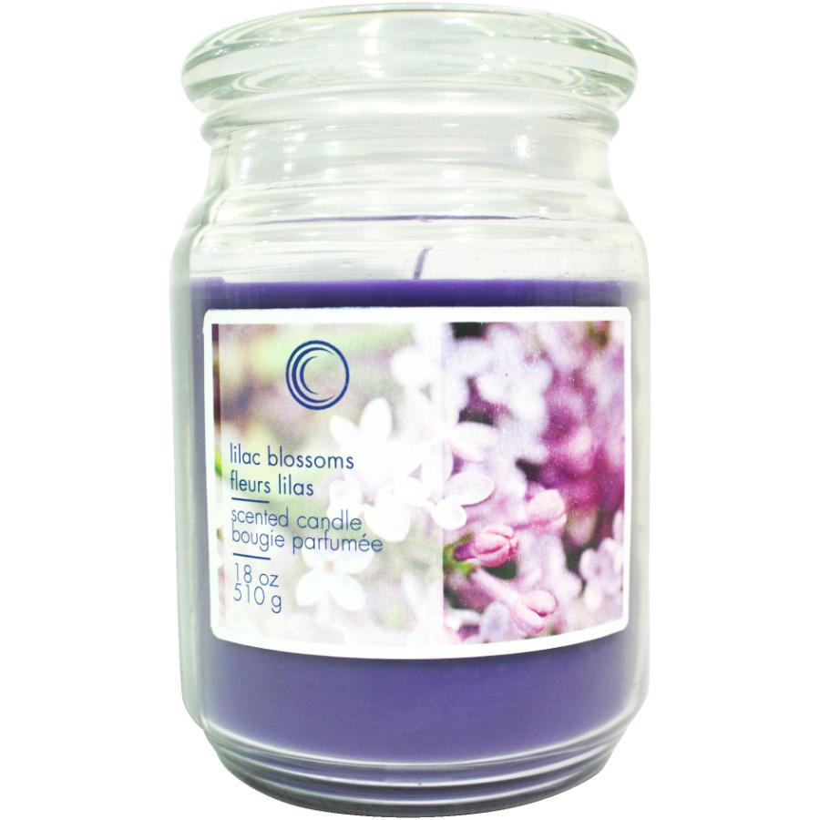 Candle Concepts 18oz Lilac Blossoms Jar Candle