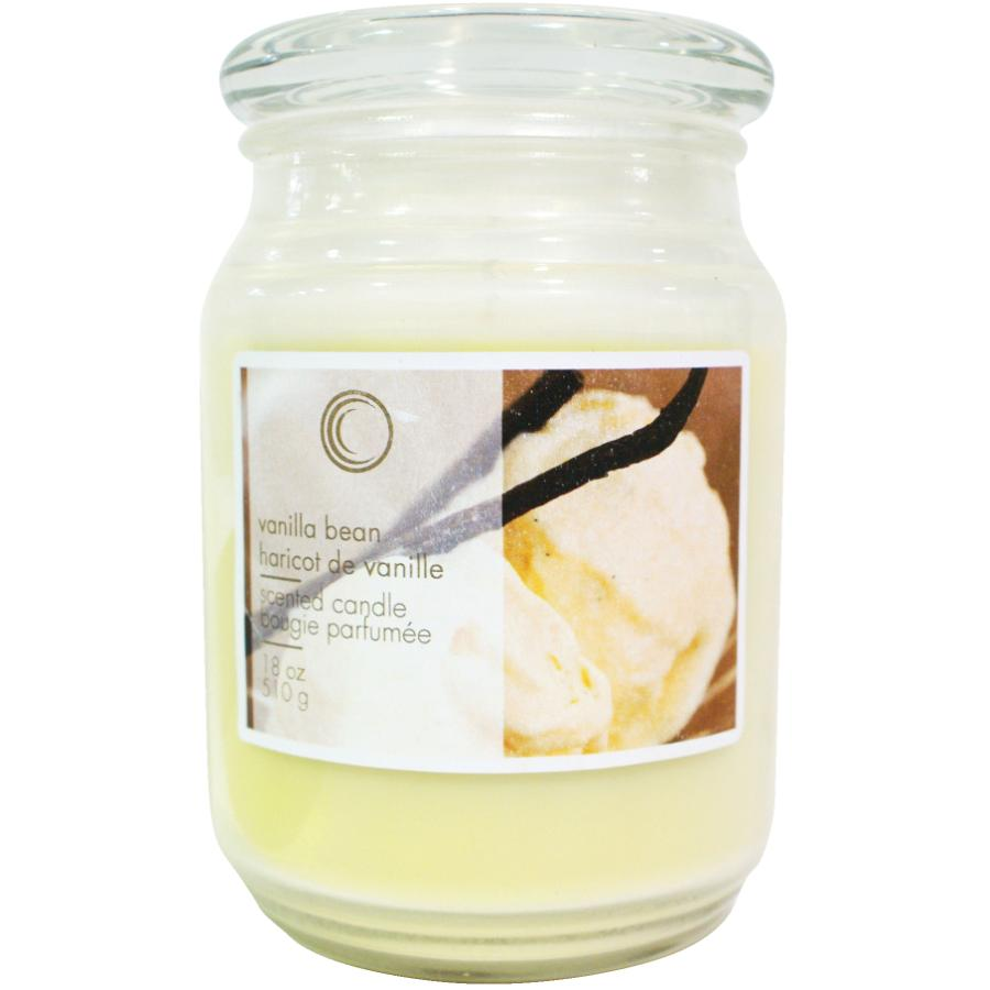 Candle Concepts 18oz Vanilla Bean Jar Candle
