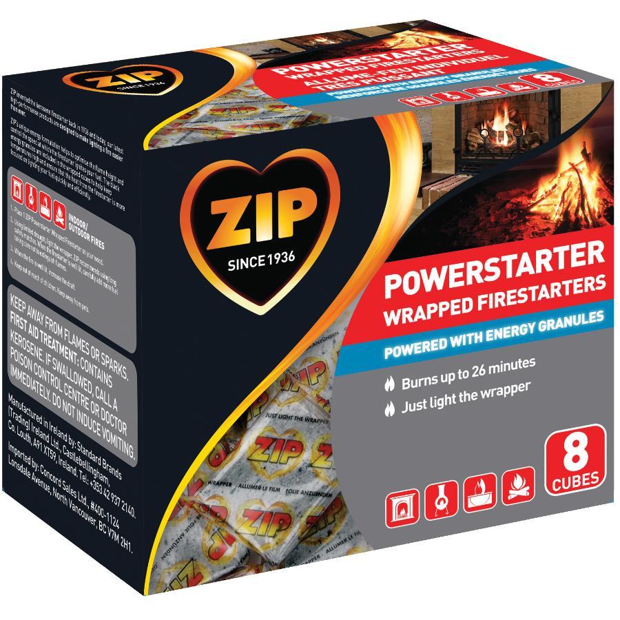 Zip 8 Pack Power Firestarters