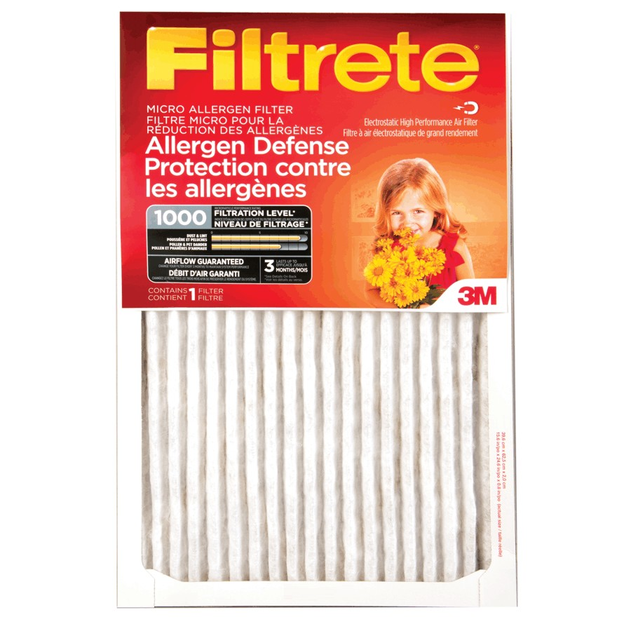 "Filtrete 1"" x 15"" x 20"" Furnace Filter"