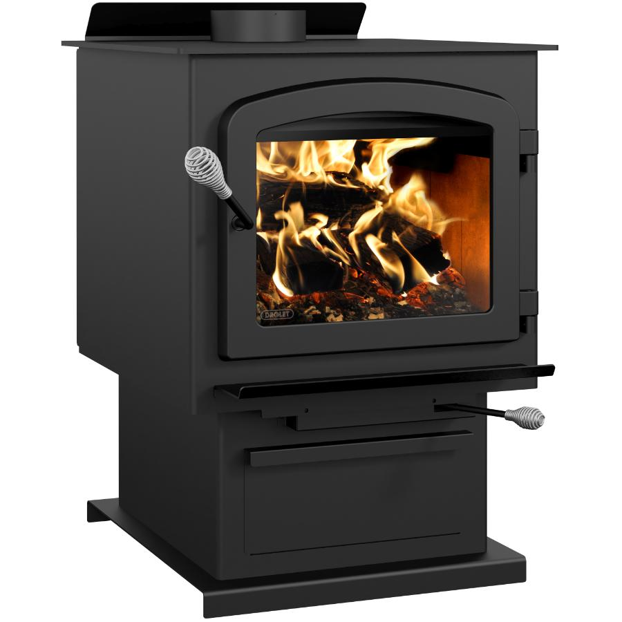 Drolet Myriad III EPA Wood Stove - with Blower