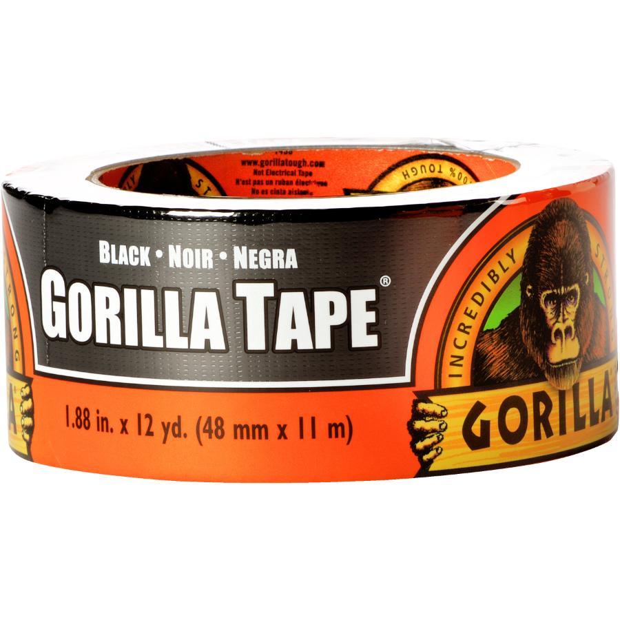 Gorilla 12YD Black Duct Tape