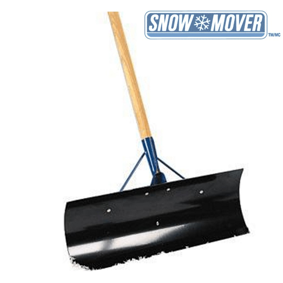 """Snow Mover 18"""" Blade Steel Snow Pusher"""