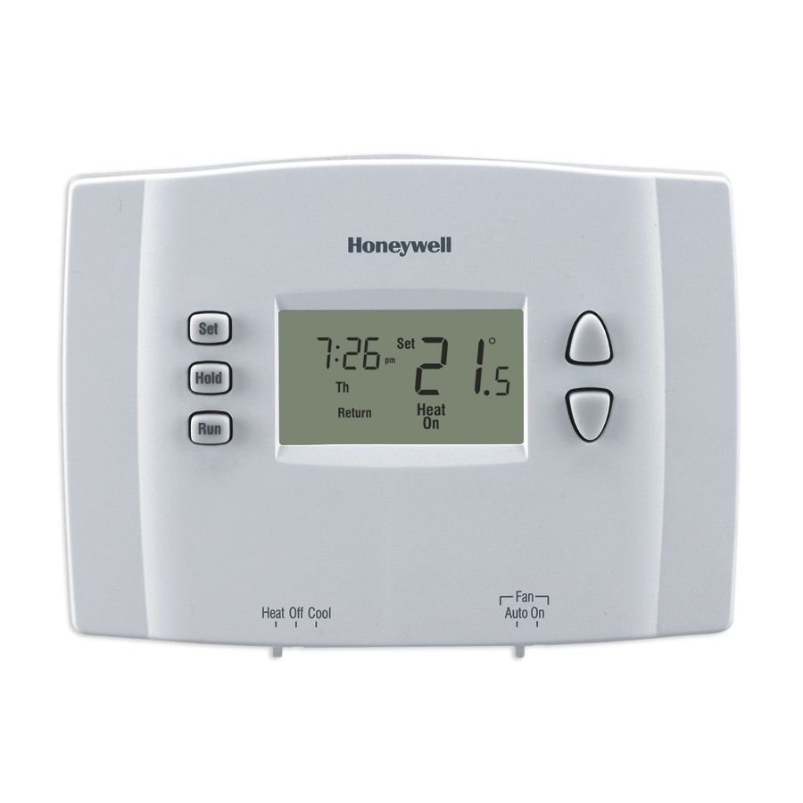Honeywell: 1 Week Programmable Thermostat