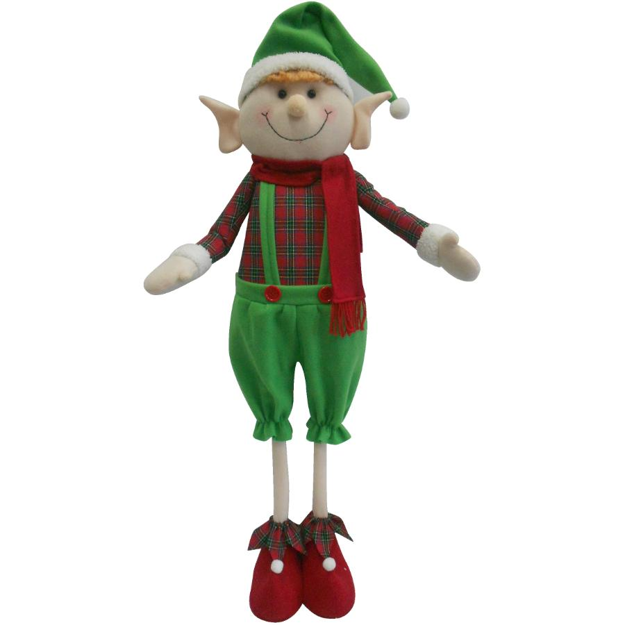 """Instyle Holiday 40"""" Standing Plush Elf"""