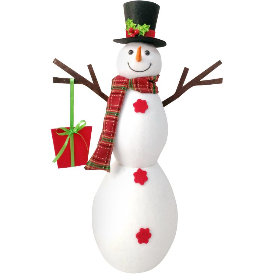 """4 Seasons 18.5"""" Foam Snow Boy Figure"""