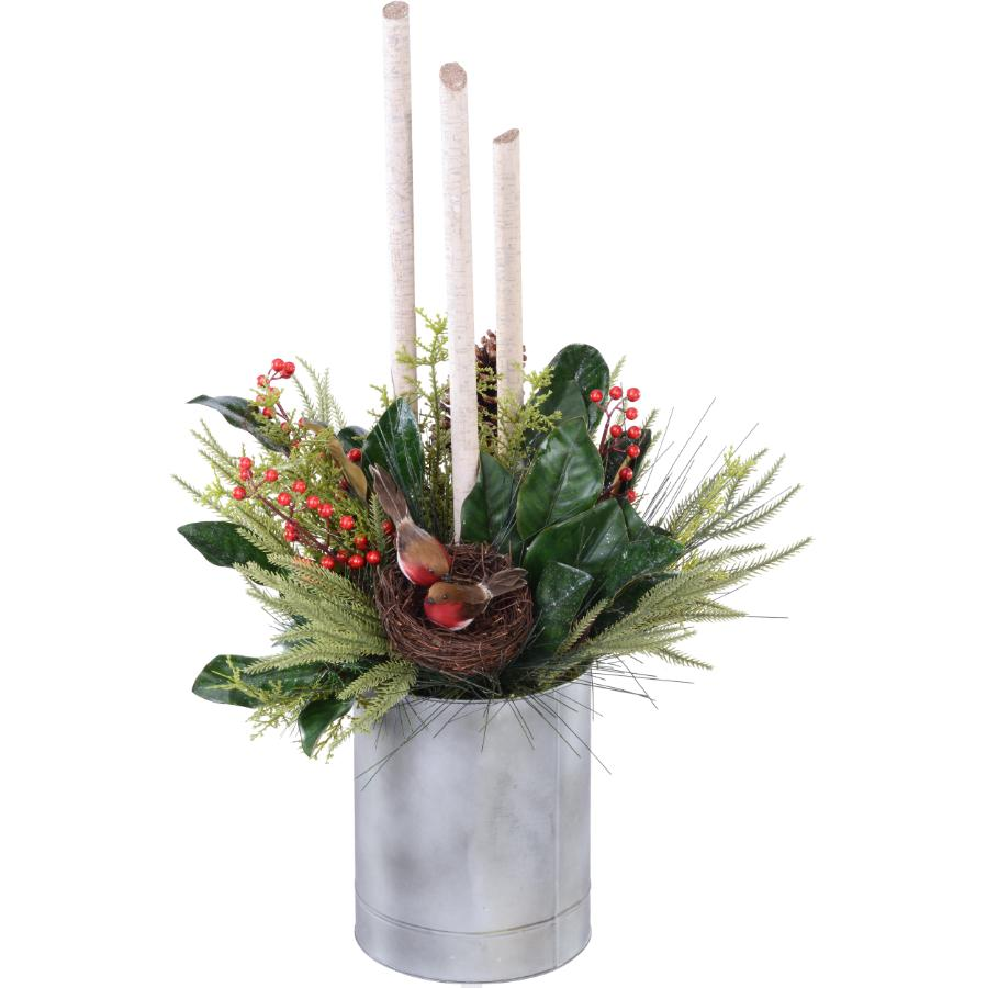 """Instyle Holiday 39"""" Winter Topiary Arrangement"""