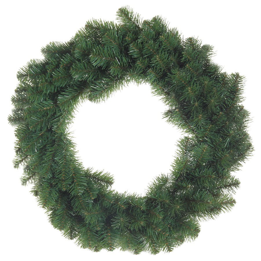 """Instyle Holiday 24"""" 160 Tip PVC Pine Wreath"""
