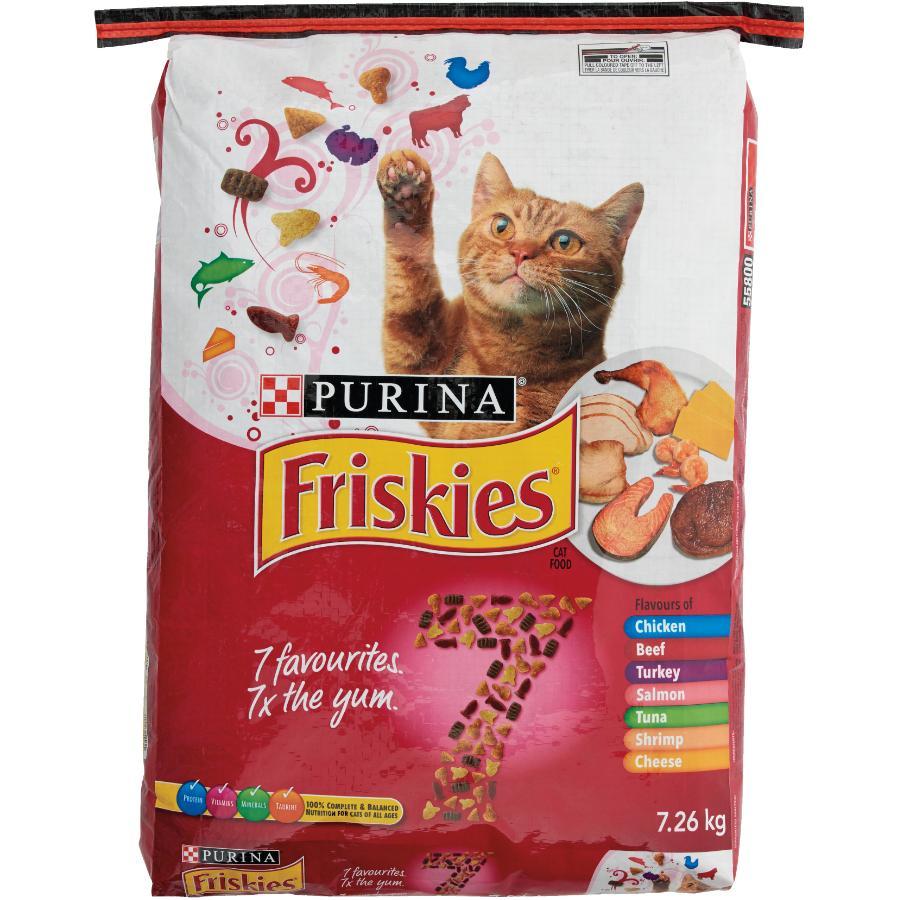 Purina 7.26kg Friskies 7 Favourites Dry Cat Food