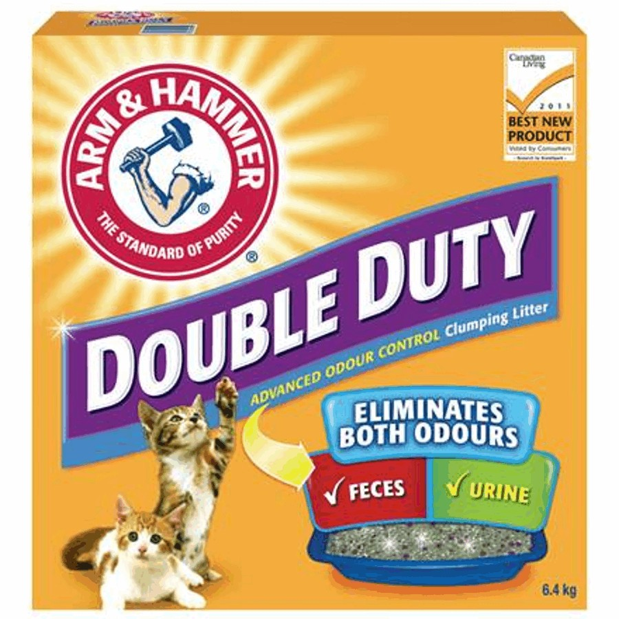 Arm & Hammer 6.4kg Double Duty Cat Litter