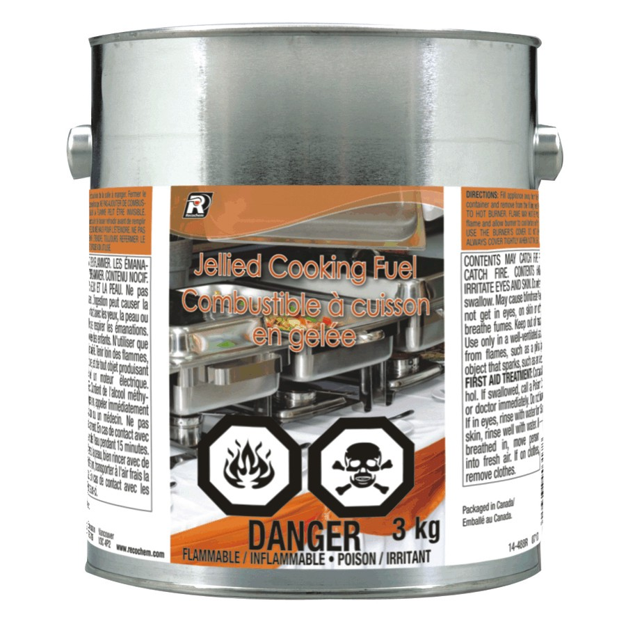 Recochem 3kg Jellied Cooking Fuel