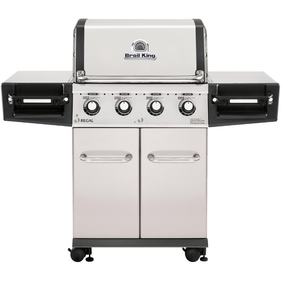 Broil King Regal S420 Pro 4 Burner 695 sq. in. 50,000BTU Stainless Steel Natural Gas Barbecue