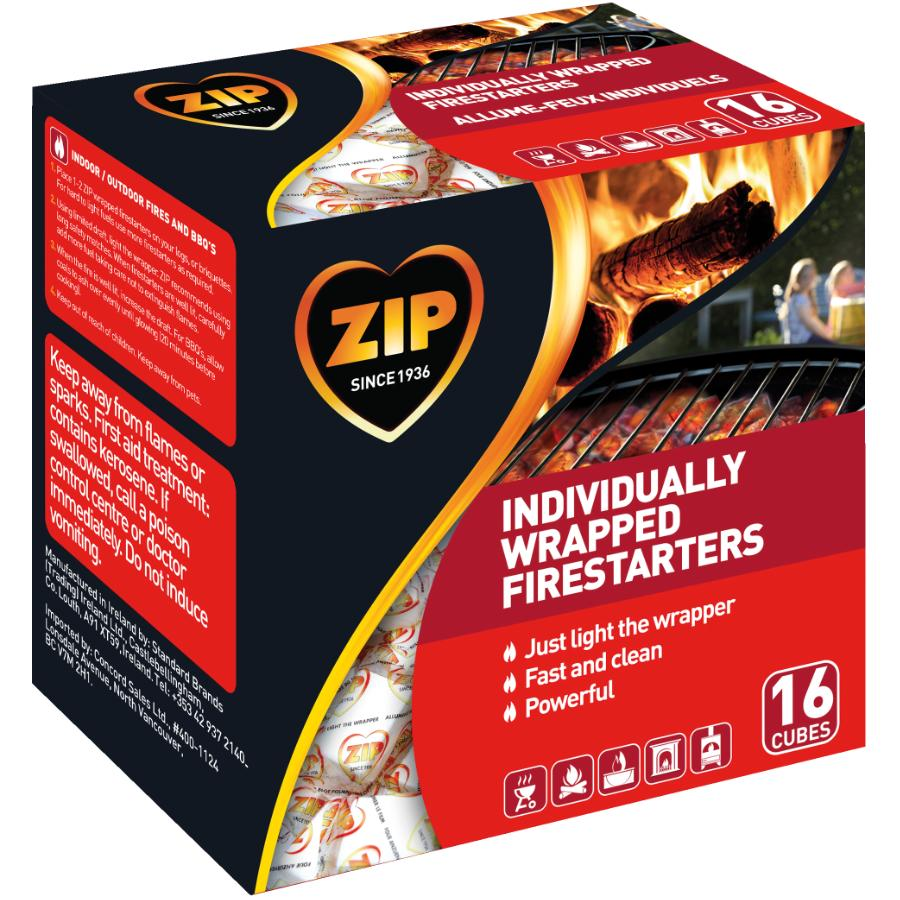 Zip 16 Pack Zip Mini Firestarter