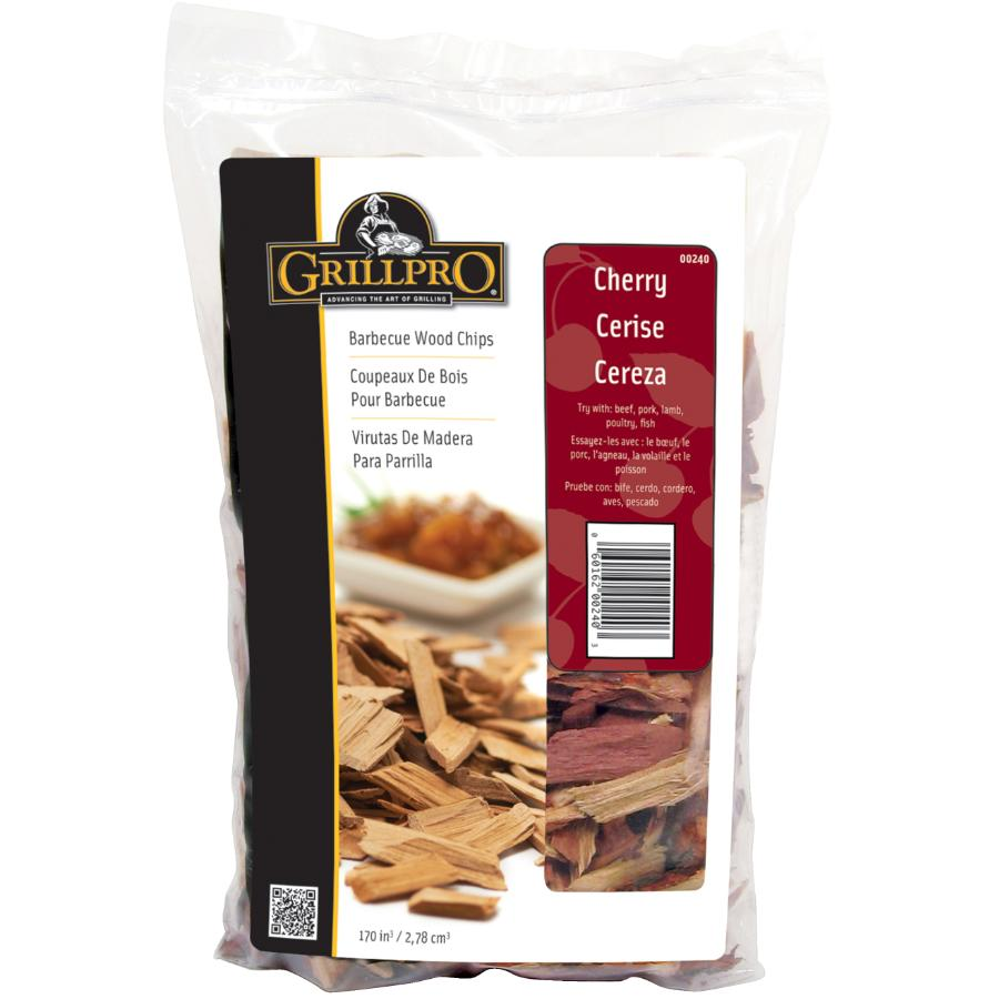 Grillpro 2lb Cherry Barbecue/Smoker Flavour Chips
