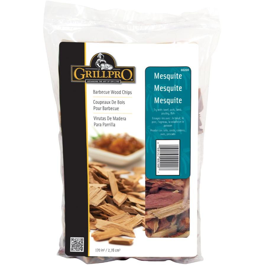 Grillpro 2lb Mesquite Barbecue/Smoker Flavour Chips