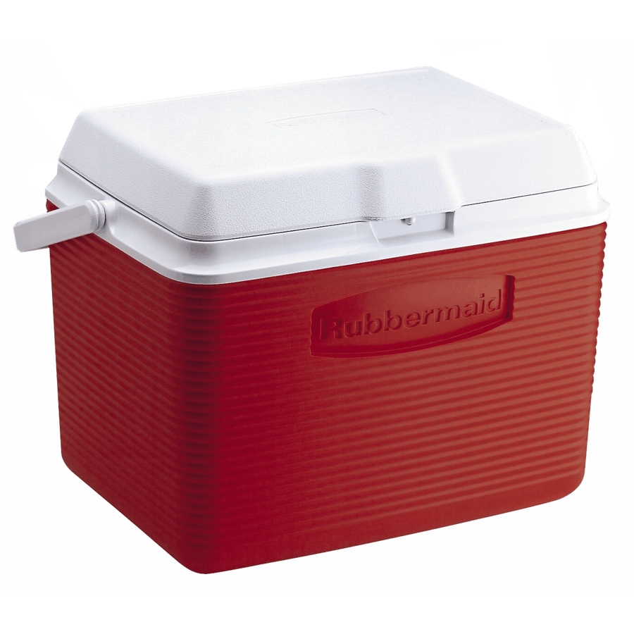 Rubbermaid 24 Quart Red Victory Cooler