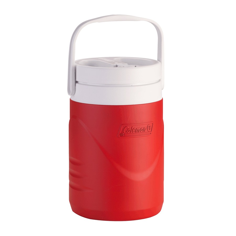 Coleman 1 Gallon Red Wide Mouth Beverage Jug