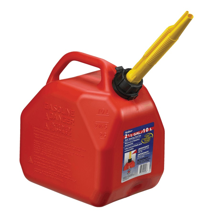 SCEPTER: 10L Plastic Jerry Gas Can