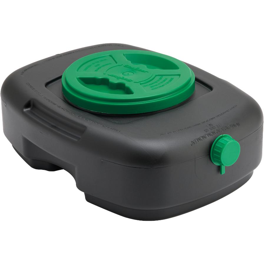 SCEPTER 12L Plastic Oil Drain Pan