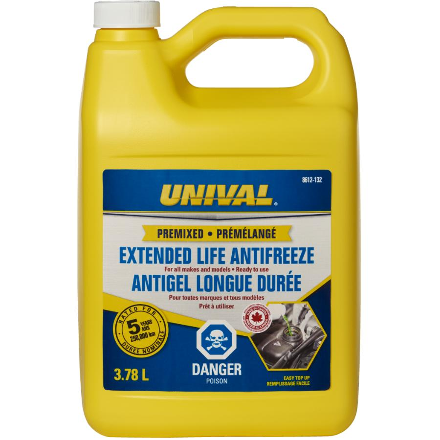 Unival 3.78L Ready-To-Use Global Radiator Coolant