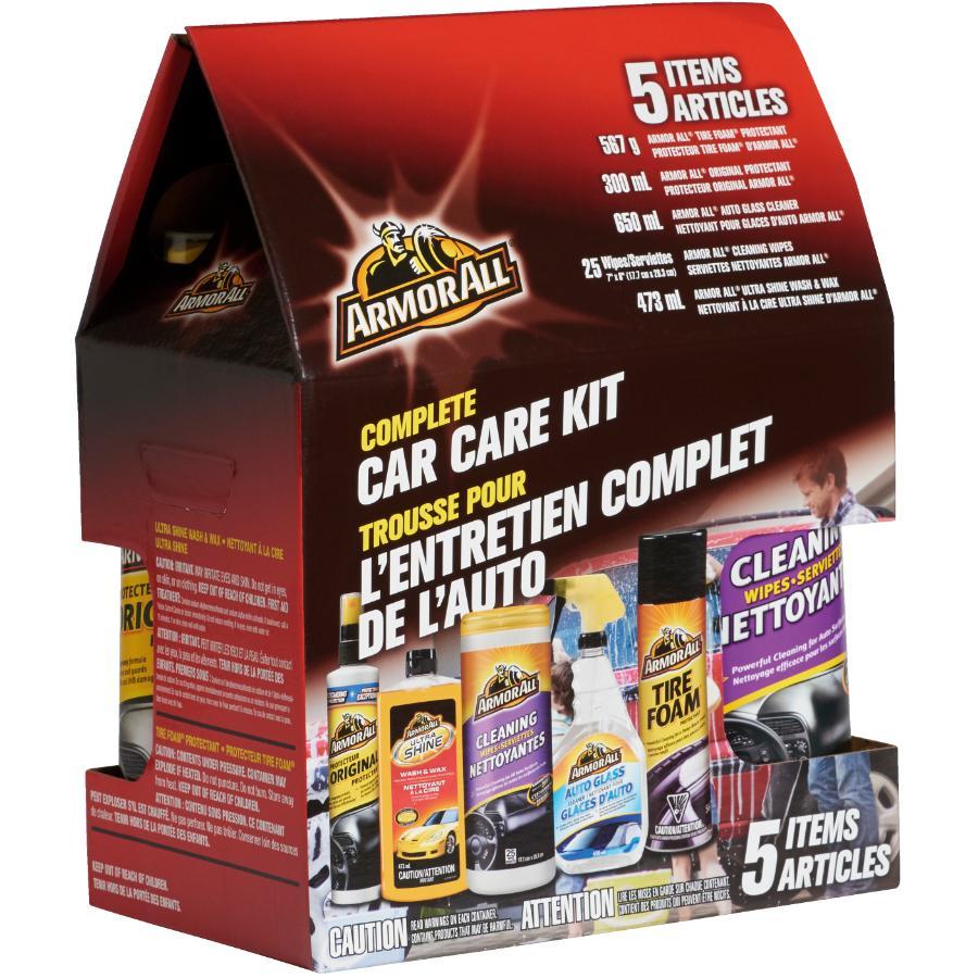 Armor All: 5 Piece Complete Car Care Kit