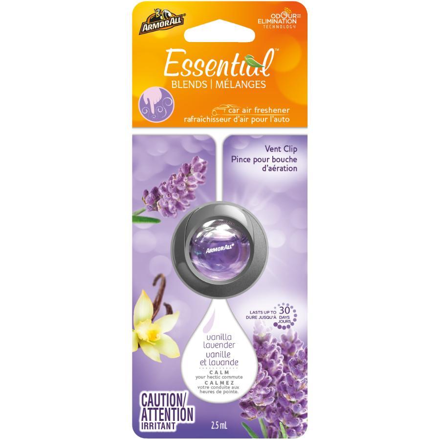 Armor All Vanilla Lavender Fragrance Automotive Vent Clip Air Freshener